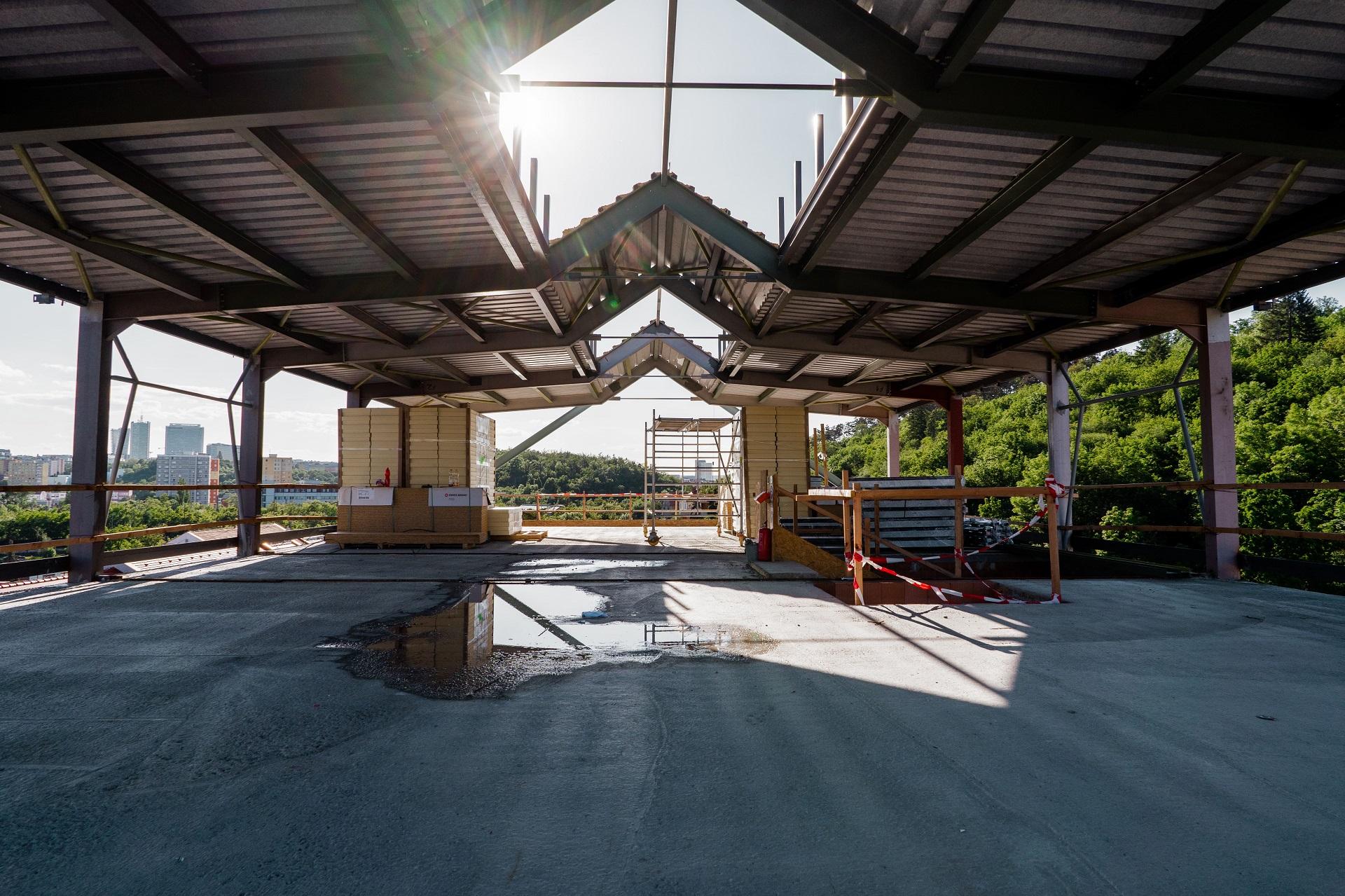 Klientská budova PPSM - rekonstrukce zevnitř 2