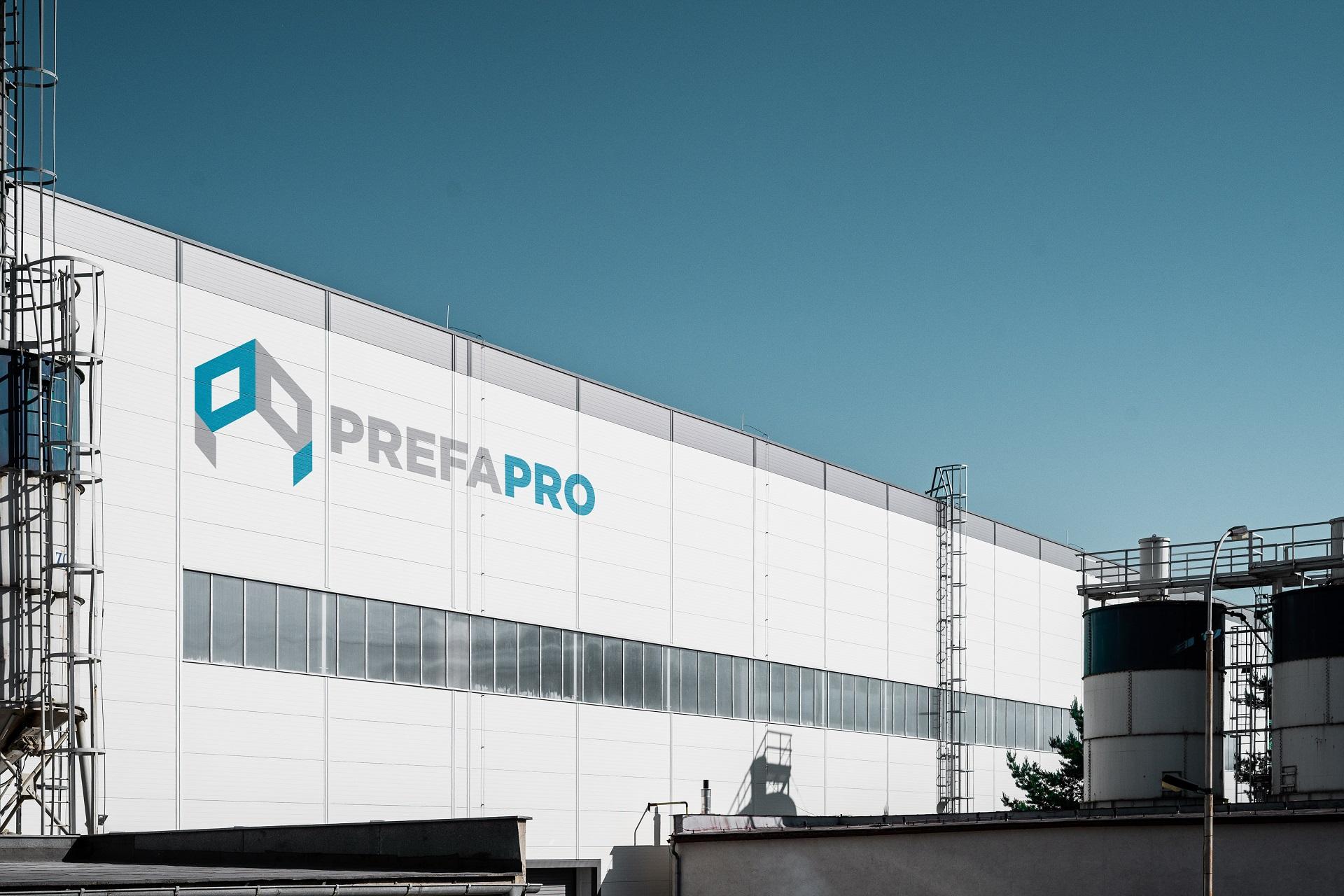 PrefaPro pohled na hlavní budovu